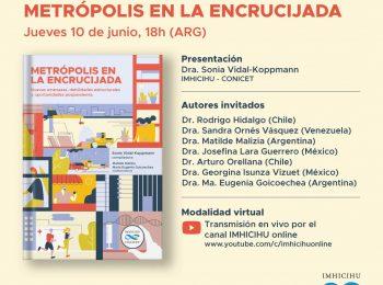 Presentación de libro: Metrópolis en la encrucijada