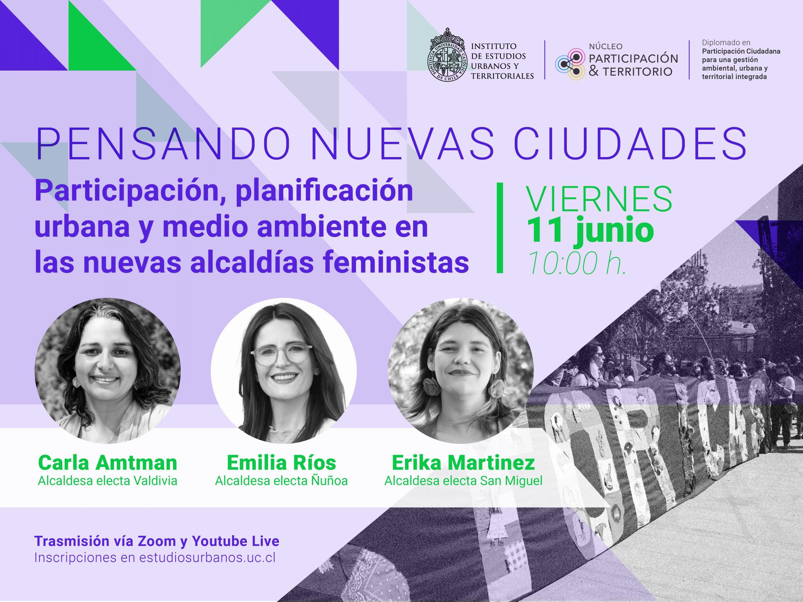 Pensando nuevas ciudades: Participación, planificación urbana y medio ambiente en las nuevas alcaldías feministas