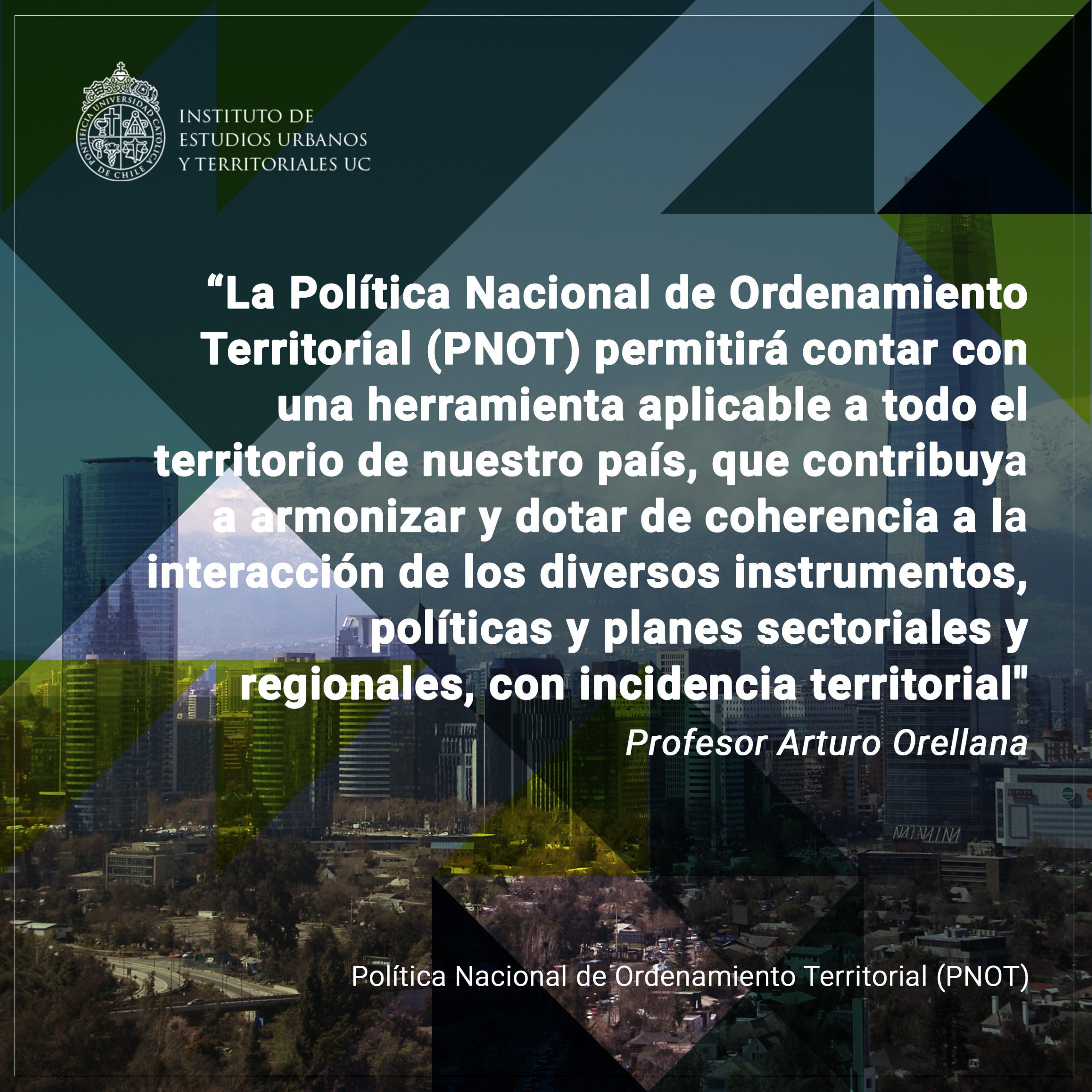 Profesores/as IEUT participaron en la formulación de la Política Nacional de Ordenamiento Territorial