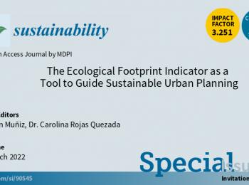 CONVOCATORIA | Artículos a la revista Sustainability