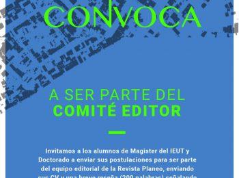 CONVOCATORIA PLANEO | Comité Editor