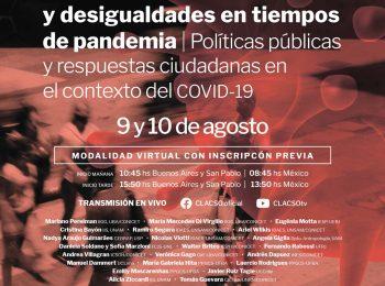 Conversatorio internacional: Ciudades latinoamericanas y desigualdades en tiempos de pandemia: Políticas públicas y respuestas ciudadanas en el contexto del COVID 19