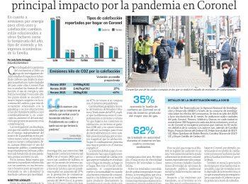 Diario El Sur (Concepción): Caída en el uso del transporte público fue el principal impacto por la pandemia en Coronel