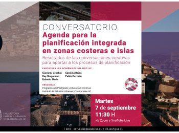 Conversatorio | Agenda para la planificación integrada en zonas costeras e islas