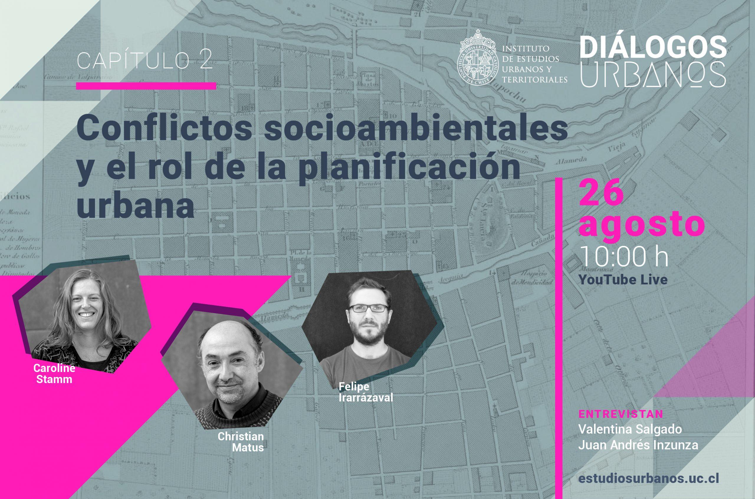 Conversatorio | Conflictos socioambientales y el rol de la planificación urbana