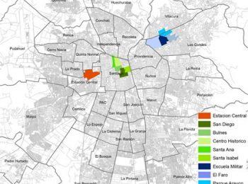 10 barrios concentran el 45% de las ofertas de arriendo en Santiago.