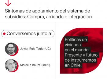 Conversatorio | Políticas de vivienda en el mundo. Presente y futuro de instrumentos en Chile.