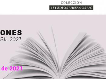 Convocatoria para publicaciones Colección Estudios Urbanos-RIL 2021