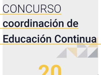 CONVOCATORIA | Concurso Coordinación Educación Continua IEUT