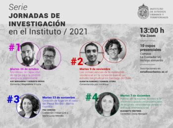 Serie jornadas de investigación en el Instituto / 2021
