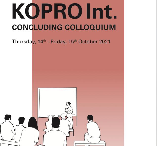 KOPRO INT: CONCLUDING COLLOQUIUM